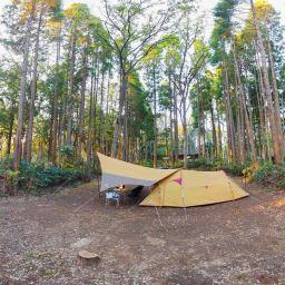家族で初の泊まりキャンプ!昭和の森フォレストビレッジ