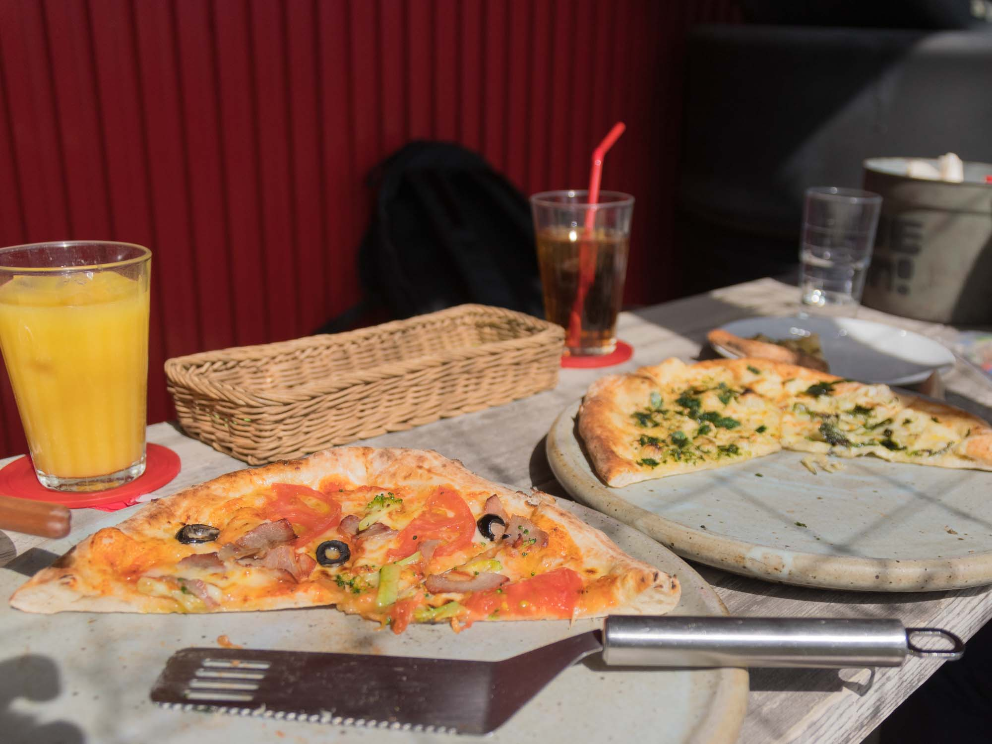 2種のピザ